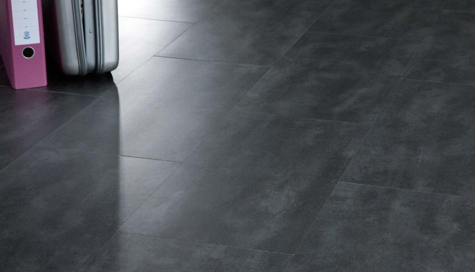 Concrete Effect Vinyl Flooring Moduleo
