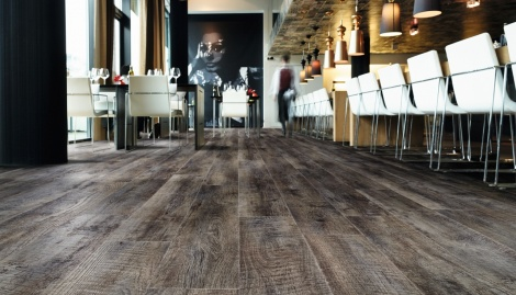 Restaurant Moduleo Luxury Vinyl Flooring