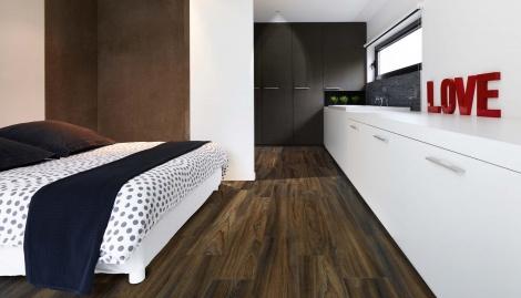 bedroom flooring ideas - vinyl flooring bedroom
