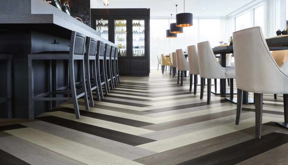 restaurant kitchen flooring options oak effect vinyl flooring moduleo 4786